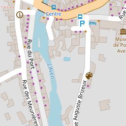 Office De Tourisme De Pont Aven 29 Plan Telephone