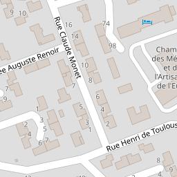 chambre de mtiers et de lartisanat de leure sur une carte 27092 vreux