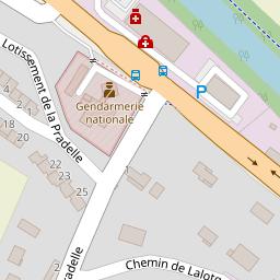 Brigade De Proximit Gendarmerie Montgiscard Sur Une Carte 31450