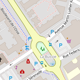 Plan D Acces Piscine Vaureal Adresse Carte Itineraire