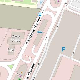 44e1b3c807eb4 Optical Center sur une carte (78140 - Vélizy Villacoublay)