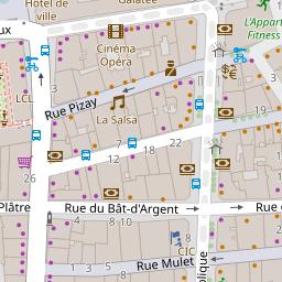 Optical Center sur une carte (69001 - Lyon 1er Arrondissement) 759e79c1750c