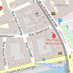 Bureau De Poste Strasbourg Bourse Strasbourg